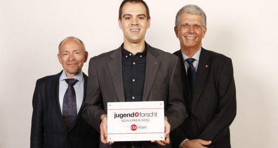 BFZ Berlin erhält zum zweiten Mal Jugend forscht Schulpreis