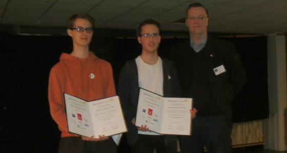 Spektroskopiepreis für BFZ Teilnehmer