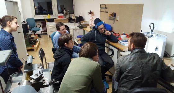 BFZ nimmt 3D Drucker in Betrieb