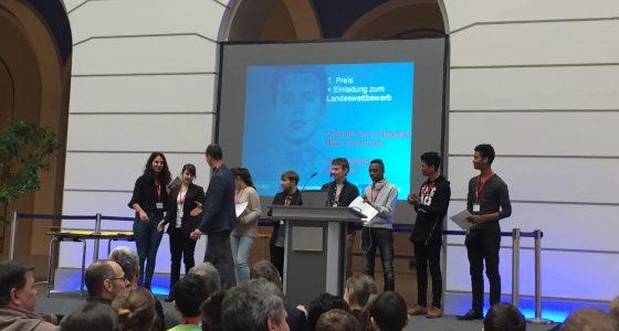 Erfolg bei Jugend forscht Regionalwettbewerben