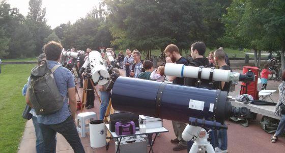 Das BFZ auf der Langen Nacht der Astronomie 2017