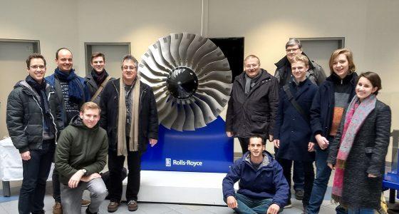Das BFZ bei Rolls-Royce in Dahlewitz