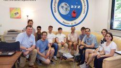 Irische Jungforscher zu Gast im BFZ