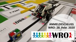 Melde Dich für die World Robot Olympiad 2020 (WRO) im BFZ an!